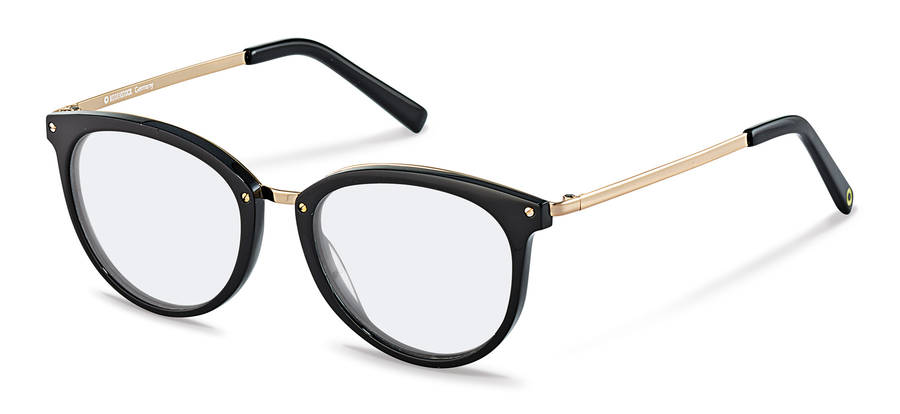 Rodenstock Capsule Collection-Bril-RR457-black/gold