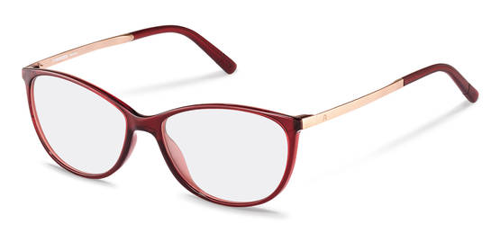 Rodenstock-Bril-R5315-dark red, rose gold