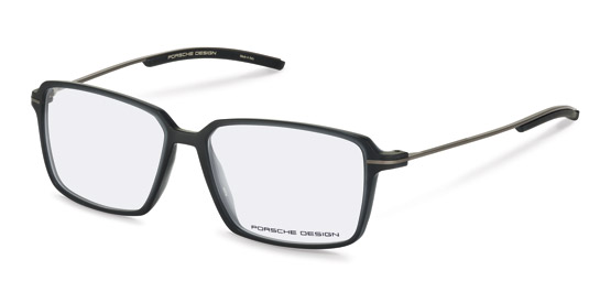 Porsche Design-Bril-P8311-dark grey transparent