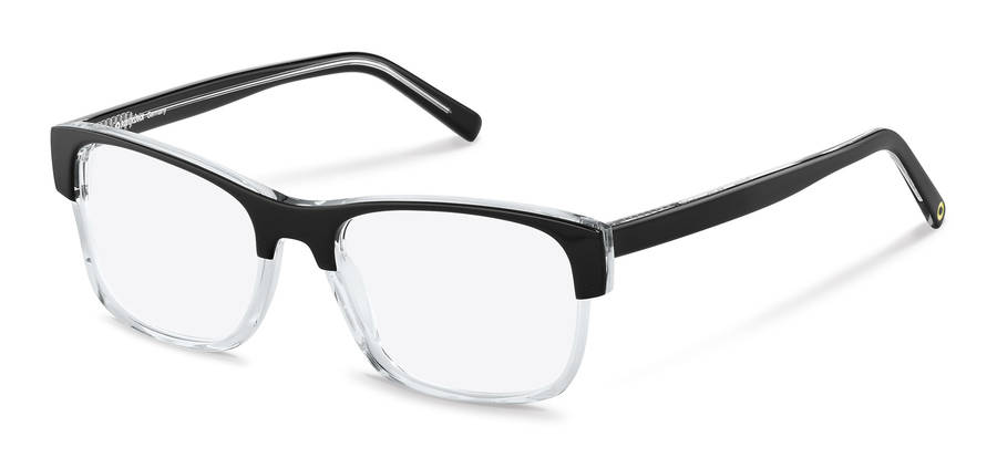 Rodenstock Capsule Collection-Bril-RR458-black/crystal