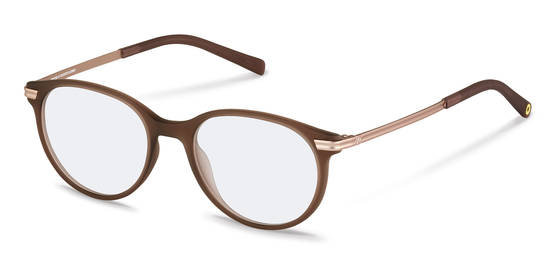 rocco by Rodenstock-Bril-RR439-brown transparent, rose gold