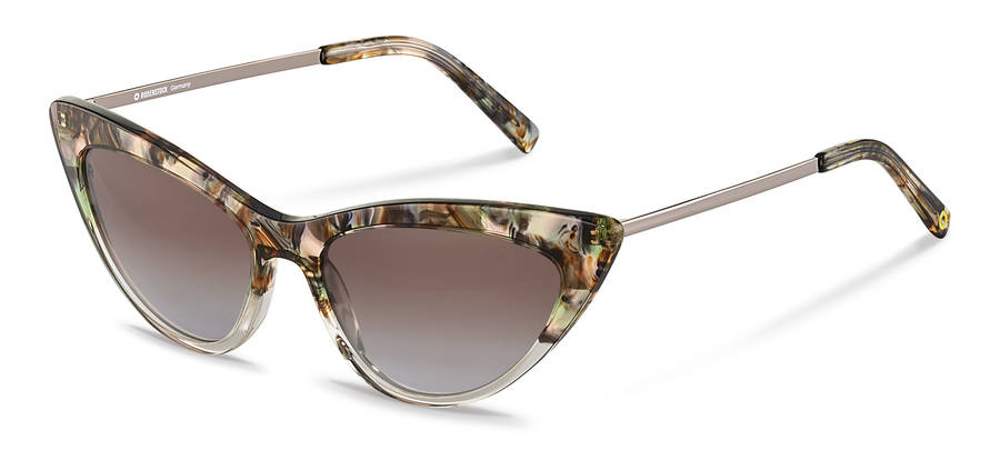 Rodenstock Capsule Collection-Zonnebril-RR336-greenrosestructured/darkgun