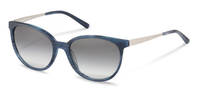 Rodenstock-Zonnebril-R3297-dark blue structured, palladium