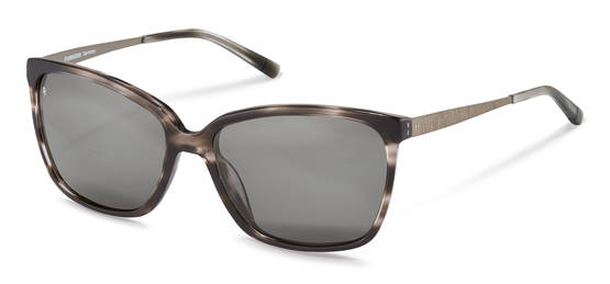 Rodenstock-Zonnebril-R3298-dark grey strucured, gunmetal