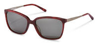 Rodenstock-Zonnebril-R3298-red structured, gunmetal