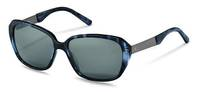 Rodenstock-Zonnebril-R3299-dark blue structured, dark gun