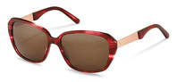 Rodenstock-Zonnebril-R3299-red structured, rose gold