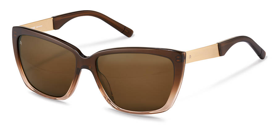 Rodenstock-Zonnebril-R3301-browngradient/gold
