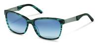 Rodenstock-Zonnebril-R3302-blue structured, palladium